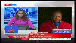 Nyeri gubernatorial aspirant-Mutahi Kagwe shares his disappointment of the Jubilee primaries
