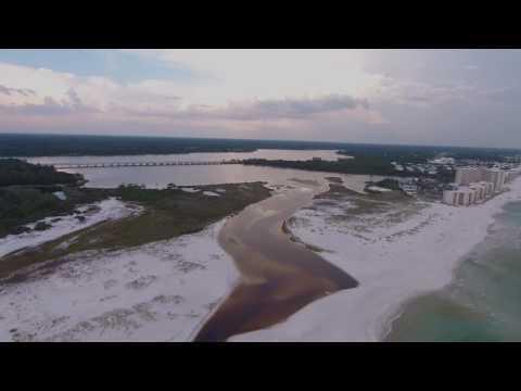 30A Lake Powell Inlet Beach Aerial