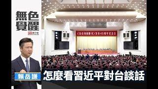 《無色覺醒》 賴岳謙 |怎麼看習近平對台談話|20190103
