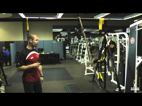 Seated Rope Pull - World Health Games 2011 Workout Demo