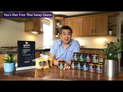 Yau's Nut Free Thai Satay Sauce