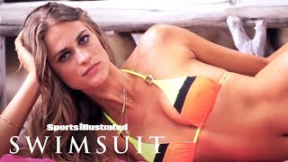 Julie Henderson Shows Off Her Flirty Side In Paradise | Intimates | Sports Illustrated Swimsuit