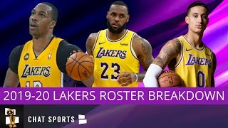 2019-20 Los Angeles Lakers Roster Update With LeBron James, Anthony Davis & Dwight Howard