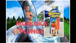Going On Muskoka Plunge At Splashworks Wonderland