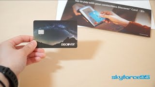 New! Discover It with Contactless Payment: Unboxing and How to Get One