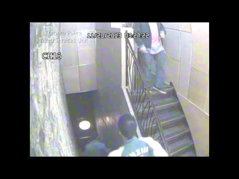 Security video of suspect in aggravated assault investigation