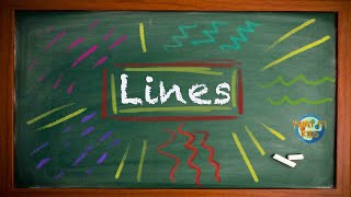 Beginner Art Education - All About Lines - Elements Of Design Lesson 1 - Art For Kids