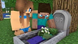Monster School : Steav life vs Cute girl Part (1)- Minecraft Animation