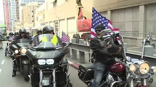 Harley Bikers Celebrate The Jerusalem Embassy Move