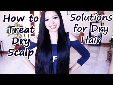 Video How to Treat Dry Itchy Scalp, Dry Hair and Dandruff -Beautyklove