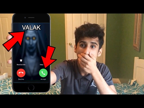 CALLING THE CONJURING VALAK *OMG SHE ACTUALLY ANSWERED*