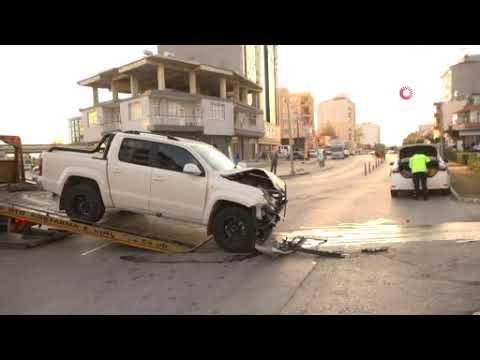 Antalya'da ambulans kazası: 1 hemşire yaralandı