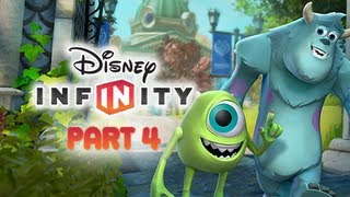 Disney Infinity Gameplay Walkthrough Part 4 - Monsters University Play Set World