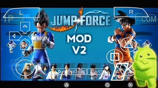 Download New Jump Force Mod For Android Psp    Jump Force Impact V2 Mod