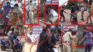 Coronavirus | Kundapur Lockdown | Police Lathi charge | Covid-19 | Kundapura