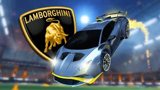 THE LAMBORGHINI IN ROCKET LEAGUE IS HERE!