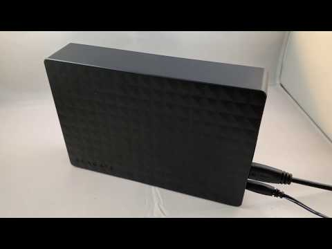 Seagate Expansion 8TB Desktop External Hard Drive USB 3.0 Review (STEB8000100)