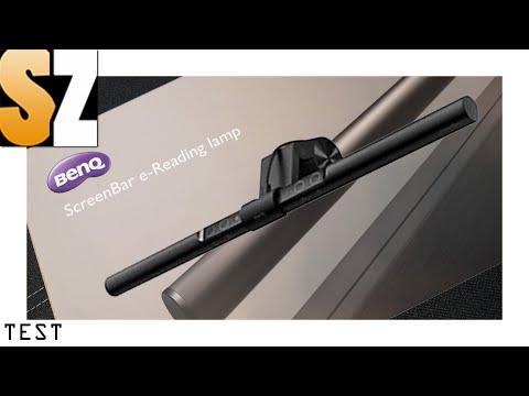 Review: BenQ Screenbar - e-Reading LED-Schreibtischlampe im Test für Streamer