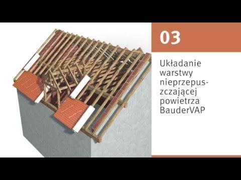 BauderPIR na dachu stromym - zdjęcie