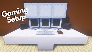 Minecraft: Gaming Setup Build Tutorial
