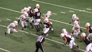 Week 9 - 2015 Football Dobie Longhorns vs Alvin Yellowjackets