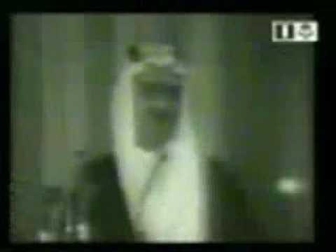 الملك فيصل يخطب في الدفاع عن المقدسات الإسلامية king faisal