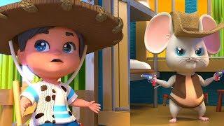El Ratón Vaquero | Canciones Y Video Infantiles Para Niños | Canciones Infantiles | El Raton Vaquero