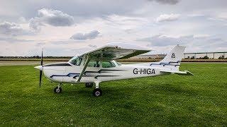 C172 - Sherburn To Leeds Bradford (LBA) | Flight Vlog