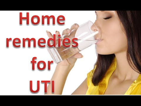Video Home remedies for urinary tract infection or UTI (urine infection)