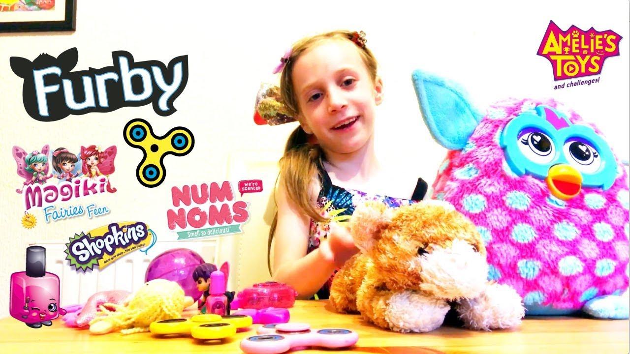 Toy Review - Magiki Fairies, Fidget Spinners, Plush, Furby, Num Noms