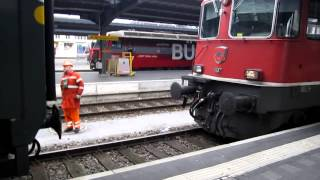 preview picture of video 'HD - Trenes suizos / Swiss trains - Chur / Coira - Suiza / Switzerland'