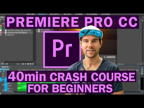 Premiere Pro CC VIDEO EDITING COURSE For Beginners - YouTube