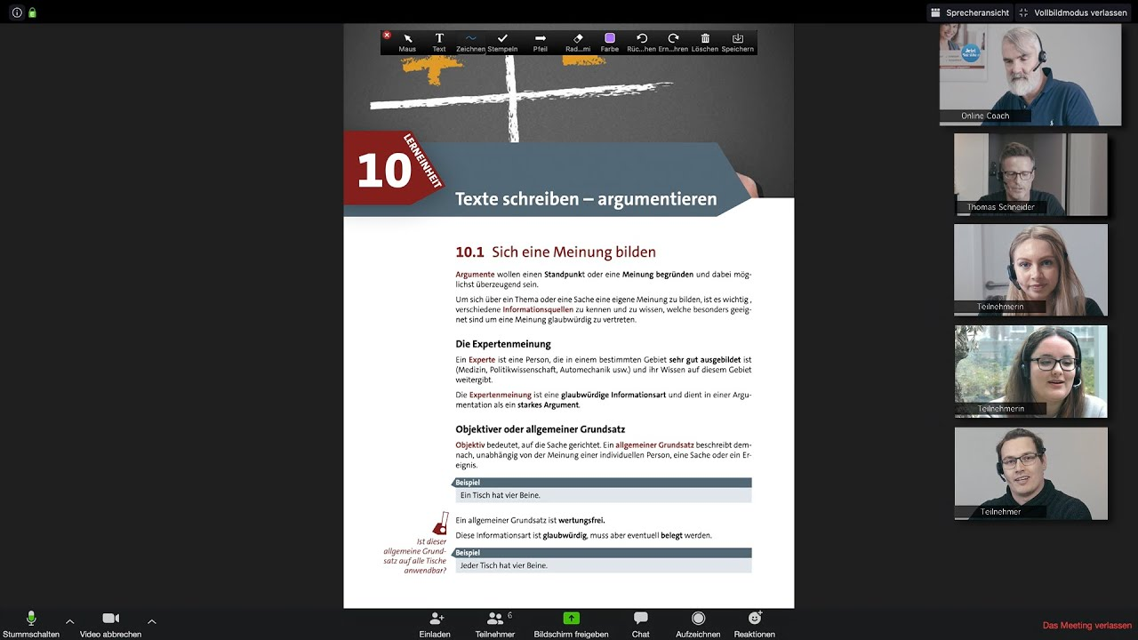 Video about online intensive courses German from IQ