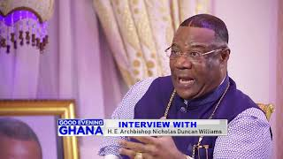 Interview with Archbishop Duncan Williams