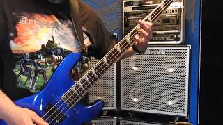 DIO -  CAUGHT IN THE MIDDLE BASS COVER