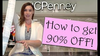 HOW TO GET 90%Off at JCPenney!!! Save Big $$$