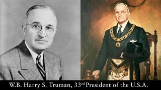 W.B. Harry S. Truman, 33rd President of the United States of America