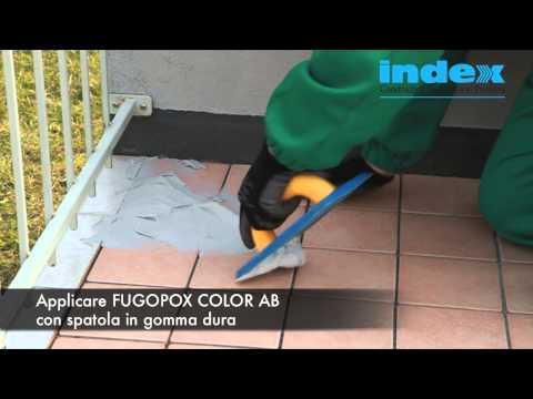 FUGOPOX COLOR AB - INDEX SpA - Stuccature di fughe esposte ad aggressioni chimiche