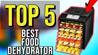 ✅ TOP 5: Best Food Dehydrator 2020