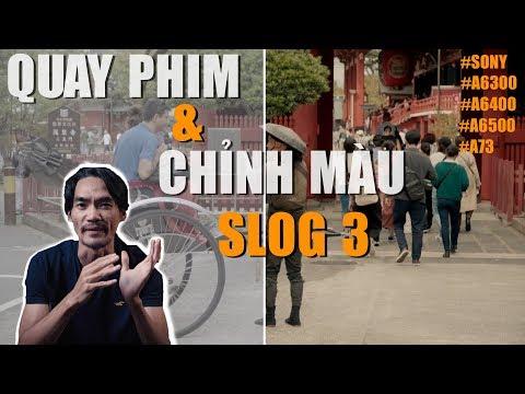Chỉnh Màu S-log3 ✅ Cine4 Và Noise - Làm Phim Nghiệp Dư LNC - Video