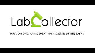 LabCollector LIMS video