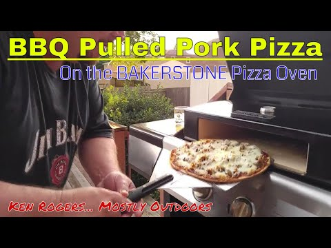 BBQ Pulled Pork Pizza | Bakerstone Outdoor Pizza Oven