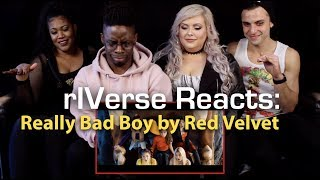 rIVerse Reacts: Really Bad Boy by Red Velvet - M/V Reaction