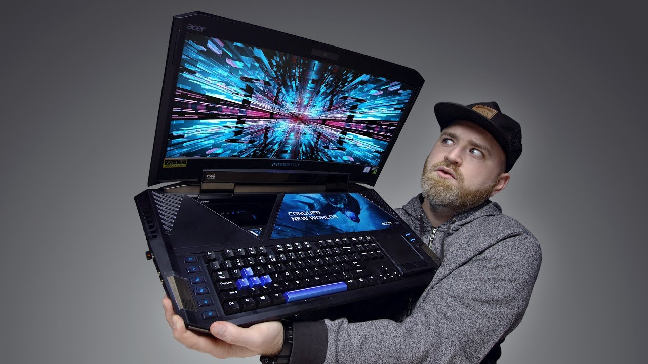 The Most Insane Laptop Ever Built... thumbnail