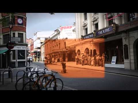 Visit 1920s and Today's London at the Same Time