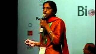 BioAsia 2011 Speaker Session Dr.Radha Rangarajan Part 1