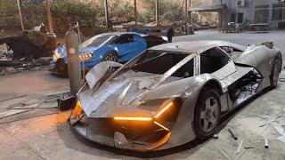 Replica | Lamborghini Terzo Millennio Homemade.