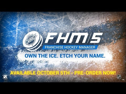 Franchise Hockey Manager 5 - First Gameplay Video - 2018/19 Quebec Nordiques Expansion! thumbnail