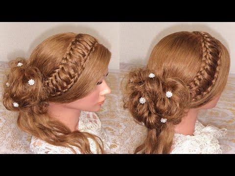 Peinado recogido elegante recogidos con trenzas recogidos faciles y bonitos - Peinados faciles y elegantes ...