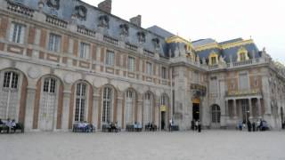 preview picture of video 'Entering the Chateau de Versailles'